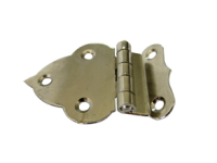 Brass Fancy Offset Hinge NP