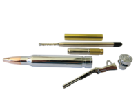 Single Bullet Pen Kit Chrome