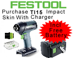 TI 15 + 3 Impact Drill with Charger Plus Battery# [564503D]